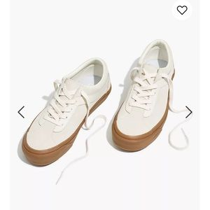 Madewell Vans®Lace-Up Sneakers in Suede AE685